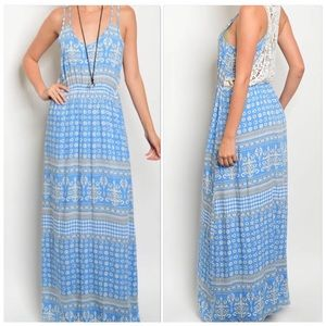 Beautiful Spaghetti Strap Maxi Dress